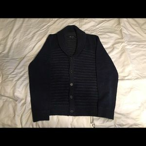 Kenneth Cole Men's button up sweater